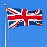 De Vlag van de Unie van Groot-Brittannië Stock Afbeeldingen