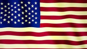 De vlag van de V stock videobeelden