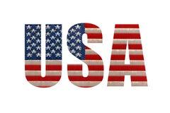 De vlag van de V Stock Foto