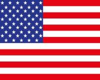 De vlag van de V Stock Afbeeldingen