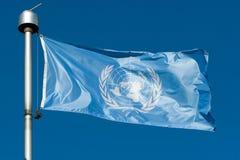 De Vlag van de V.N. stock afbeeldingen
