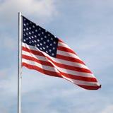 De vlag van de V.S. stock foto