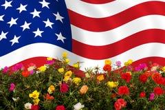 De vlag van de V.S. royalty-vrije stock fotografie