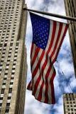 De Vlag van de V.S. Stock Afbeeldingen