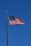 De vlag van de V.S. het golven royalty-vrije stock fotografie