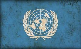 De Vlag van de Verenigde Naties vector illustratie