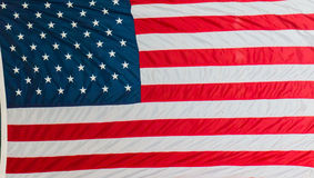De Vlag van de Verenigde Staten van Amerika stock afbeelding
