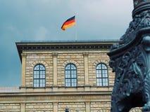 De Vlag van Duitsland Royalty-vrije Stock Afbeelding