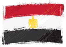 De vlag van Egypte van Grunge Royalty-vrije Stock Afbeelding