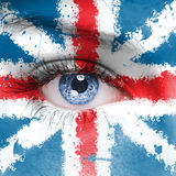De Vlag van Engeland royalty-vrije stock afbeelding