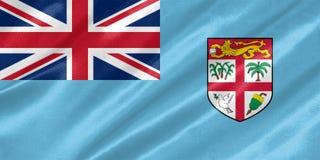 De Vlag van Fiji royalty-vrije stock afbeeldingen