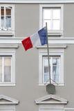 De Vlag van Frankrijk Stock Foto