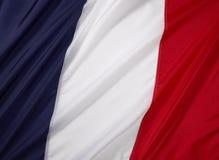 De Vlag van Frankrijk Stock Afbeeldingen