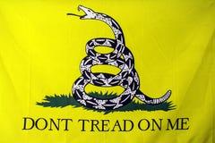 De Vlag van Gadsden Stock Afbeelding