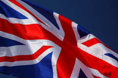 De vlag van Groot-Brittannië Royalty-vrije Stock Foto