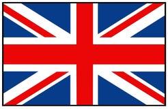 De vlag van Groot-Brittannië vector illustratie