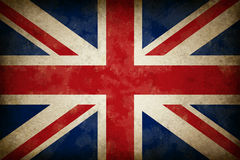 De Vlag van Groot-Brittannië van Grunge royalty-vrije illustratie