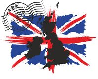 De vlag van Groot-Brittannië Royalty-vrije Stock Afbeeldingen