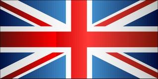 De vlag van Grunge van het Verenigd Koninkrijk Royalty-vrije Stock Afbeelding