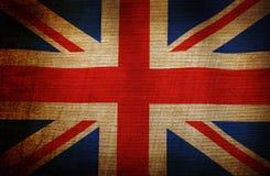 De vlag van Grunge van Engeland vector illustratie