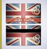 De vlag van Grunge van het Verenigd Koninkrijk Stock Fotografie