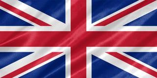 De vlag van het Verenigd Koninkrijk vector illustratie