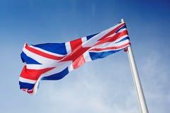 De vlag van het Verenigd Koninkrijk Stock Foto