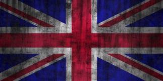 De vlag van het Verenigd Koninkrijk grunge Stock Afbeelding