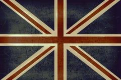 De vlag van het Verenigd Koninkrijk grunge Stock Foto