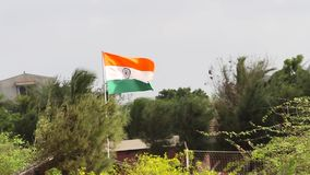 De Vlag van India stock videobeelden