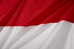 De Vlag van Indonesië Royalty-vrije Stock Afbeelding