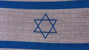 De Vlag van Israël stock video