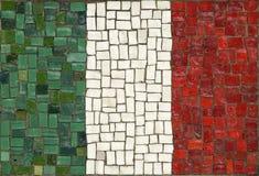 De vlag van Italië stock fotografie