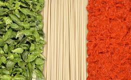De vlag van Italië Stock Afbeeldingen