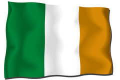 De Vlag van Ivoorkust Stock Foto