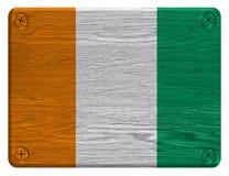 De vlag van Ivoorkust Royalty-vrije Stock Fotografie