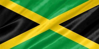De Vlag van Jamaïca stock fotografie