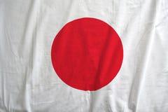 De vlag van Japan nationale textuur als achtergrond stock afbeeldingen