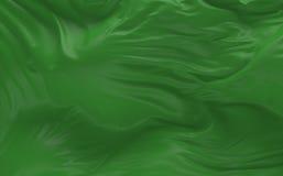 De vlag van Libië die in de 3d wind golven geeft terug Stock Afbeeldingen