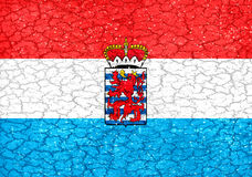 De Vlag van Luxemburgogrunge Stock Fotografie