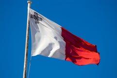 De vlag van Malta Stock Afbeelding