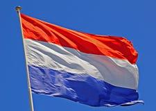 De Vlag van Nederland Royalty-vrije Stock Afbeelding
