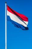De Vlag van Nederland Stock Afbeelding