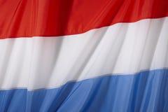 De Vlag van Nederland Royalty-vrije Stock Afbeeldingen