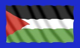 De vlag van Palestina Stock Fotografie