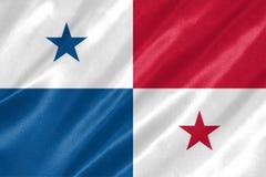 De vlag van Panama royalty-vrije illustratie