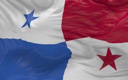 De vlag van Panama die in de 3d wind golven geeft terug Royalty-vrije Stock Afbeelding