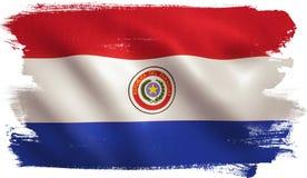 De vlag van Paraguay Royalty-vrije Stock Foto