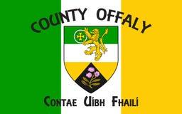 De vlag van Provincie Offaly is een provincie in Ierland royalty-vrije stock fotografie