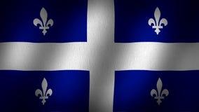 De vlag van Quebec vector illustratie